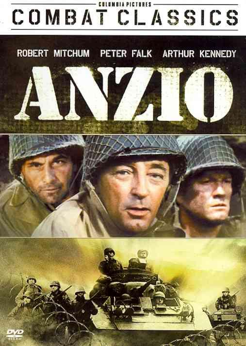 ANZIO BY MITCHUM,ROBERT (DVD)